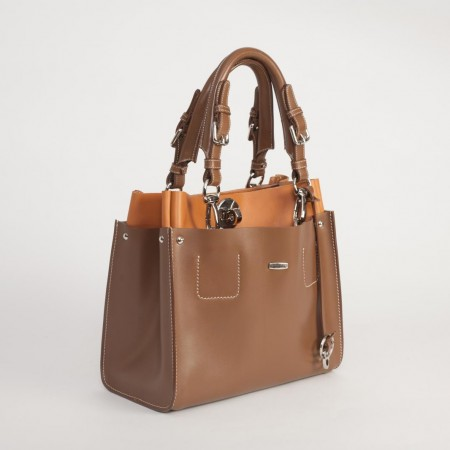 5872UK Double Layered Handbag 2