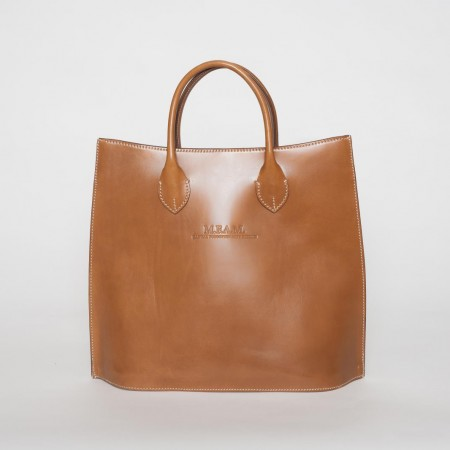 5909UK Large Leather Tote Bag 1