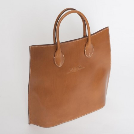 5909UK Large Leather Tote Bag 2